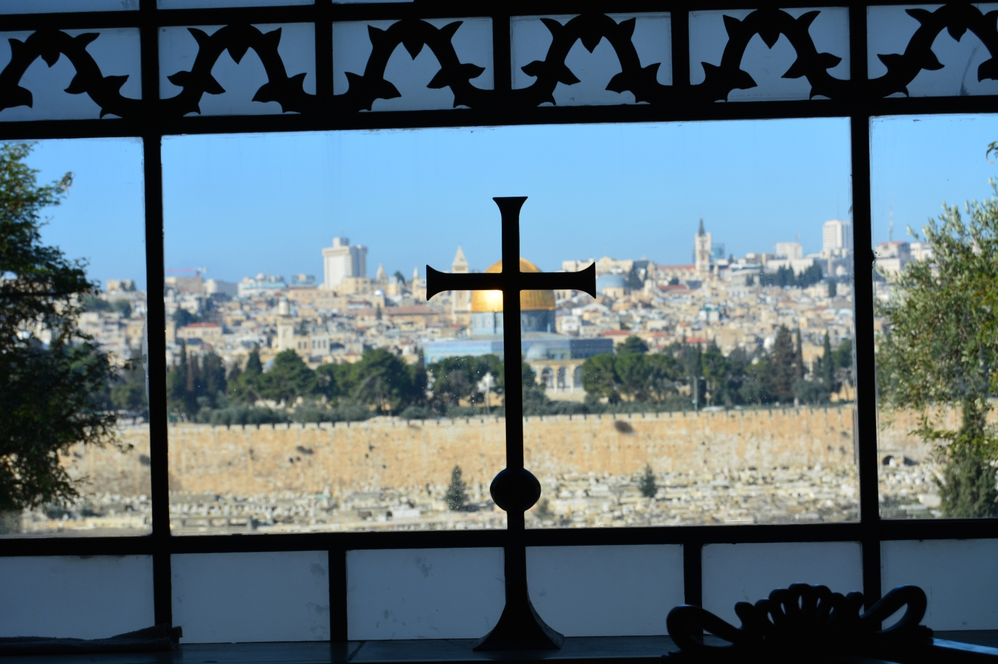 Church on Mount of Olives--nice overlay